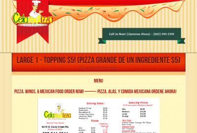 Celas s Pizza
